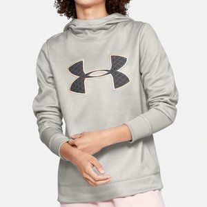 Under Armour Fleece Big Logo Hoodie Size M